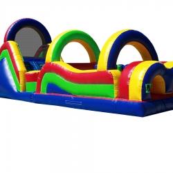 brinquedos infláveis obstáculos