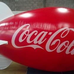 Dirigivel coca cola