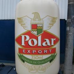 Inflaveis promocionais cerveja polar