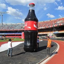 Inflaveis promocionais coca cola plastico