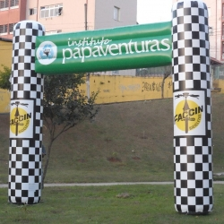 Portal inflavel Instituto papaventuras