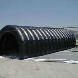 Tunel inflavel preto