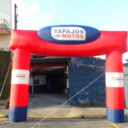 Portal inflavel Tapajós motos