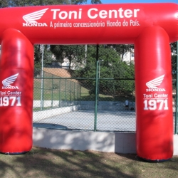 Portal inflavel tonicenter honda