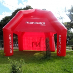 tendas inflaveis mahindra