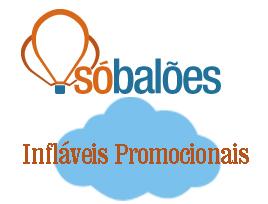 infláveis promocionais Só Baloes